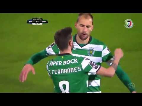 Golo de Bas Dost: Belenenses 1-(1) Sporting (Liga 30ªJ)