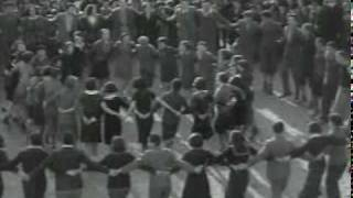 Archival Footage: Jews Dancing the Hora in Munkács