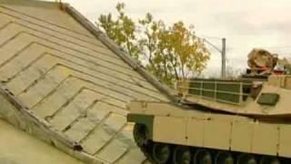 M1 Tank Road Test