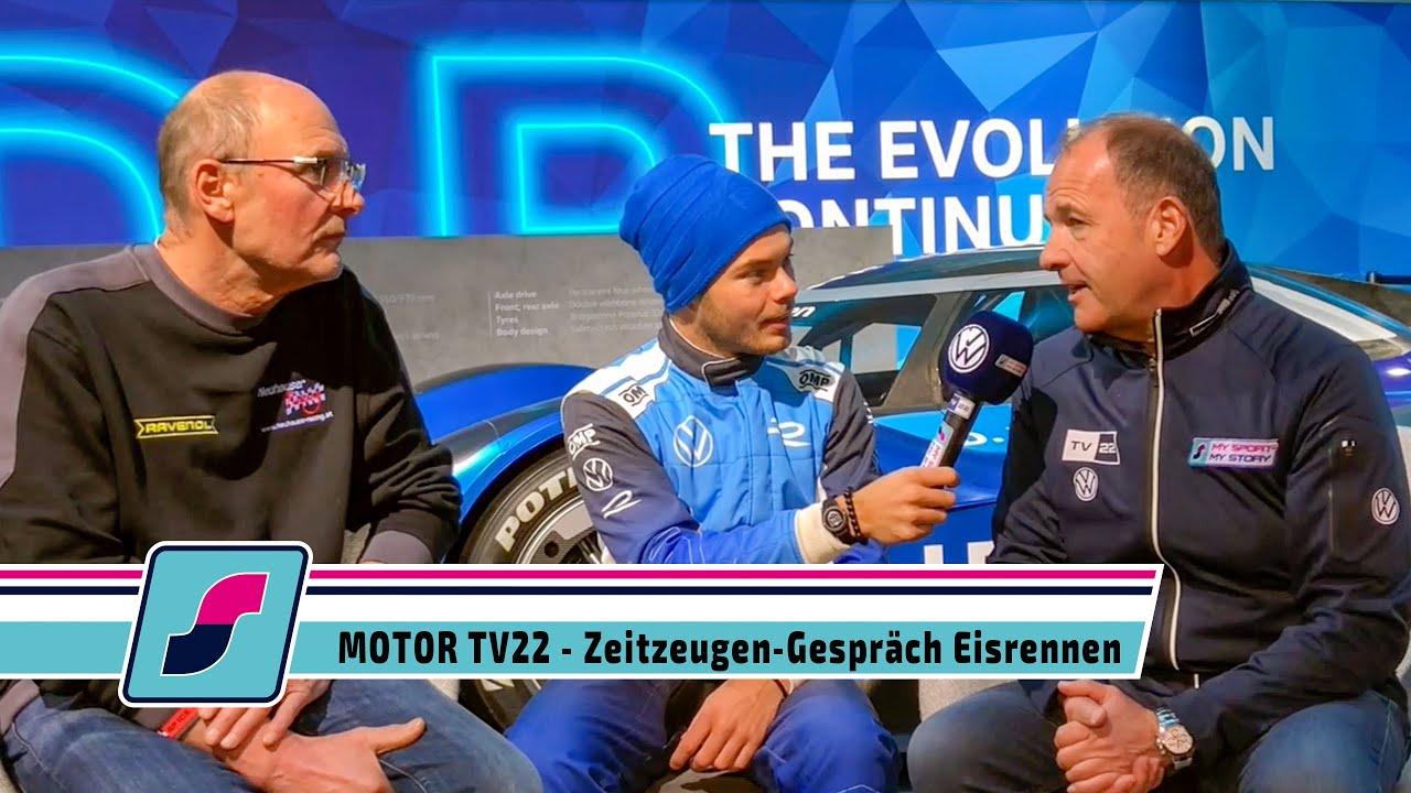 MOTOR TV22: Zeitzeugen-Gespräch Eisrennen