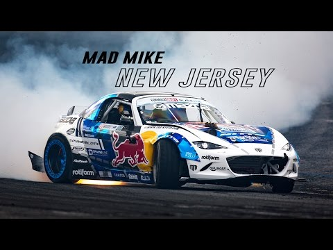 Mad Mike Formula Drift Round 4 Wall Township, New Jersey  2016
