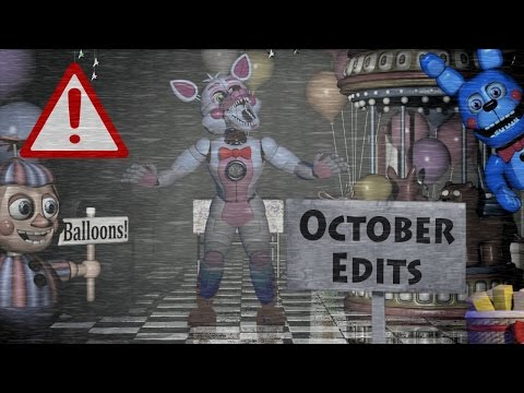 FNAF EDITS COMPILATION || October 2016 || epicsurfingvids