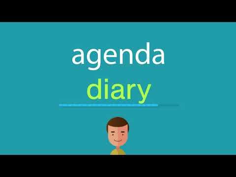 comment-dire-agenda-en-anglais