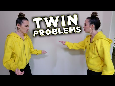 TWIN PROBLEMS Merrell Twins