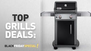 Grills And Barbecues Deals: Weber 46110001 Spirit E210 Liquid Propane Gas Grill, Black