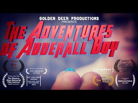 The Adventures of Adderall Boy | Short Film