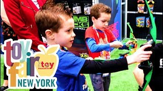 NYC Toy Fair 2018 Week!  Hottest New Toys from Spinmaster, Nerf, Pokemon, Smashers, & Star Wars