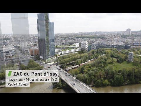 ZAC du Pont d'Issy à Issy-les-Moulineaux (92)