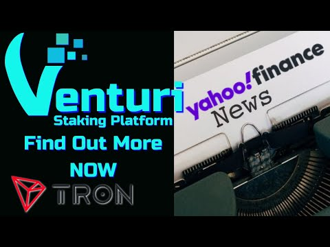 Venturi The Smartest Smart Contract Staking Platform Gets Covered In Yahoo Finance NEWS!
