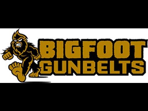 Bigfoot Gunbelts Review Best Concealed Open Carry belt most durable survival toughest leather steel