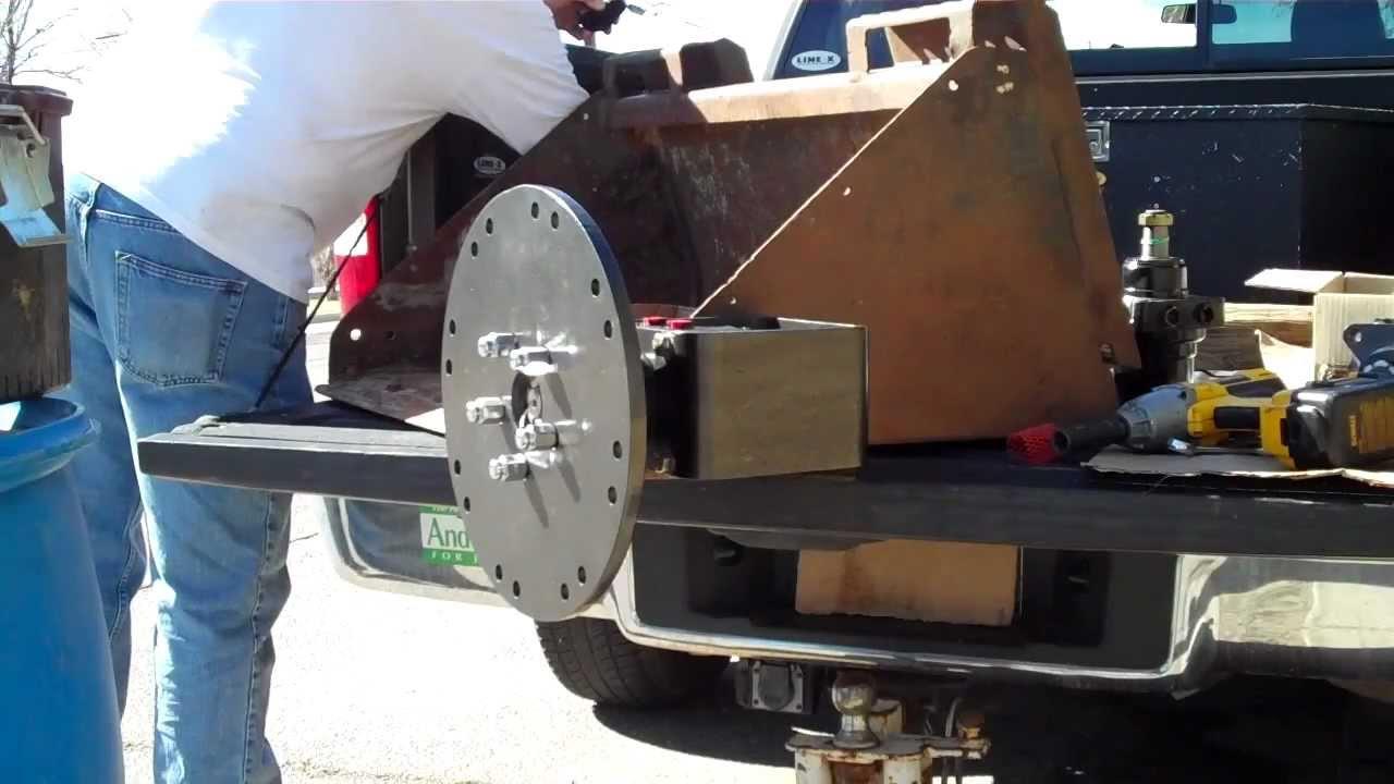 3 Point Stump Grinder >> Stump Grinder Kit E-bay Seller 065alb - YouTube