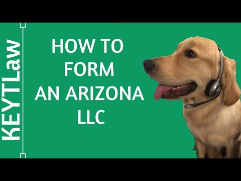 How To Form a Do-It-Yourself Arizona LLC