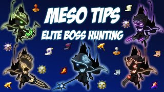 Maplestory - Meso Tips - Elite Boss Hunting