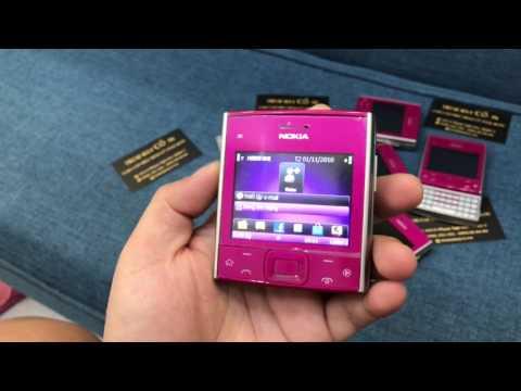 Điện Thoại Nokia x5-01 màu hồng chính hãng