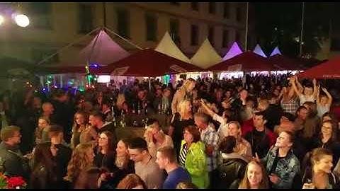 "Soundaholics live am Weinfest Fulda 2018 - ""Sex on fire"""