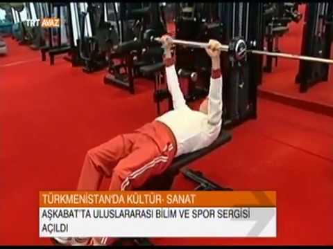 Türkmenistan Devlet Başkanı'nın Spor Görüntüleri - TRT Avaz Haber