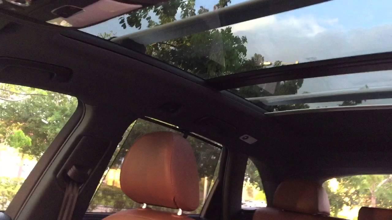 2012 Audi Q5 S-line Quattro - Moonroof operation - YouTube