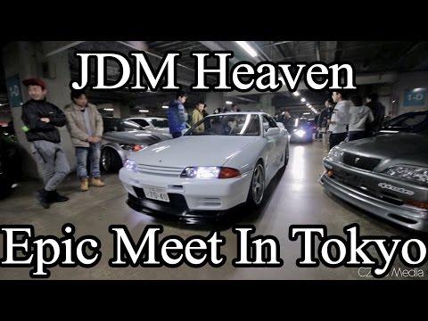 Real Life Tokyo Drift Car Meet (Japan)  - Vlog 53