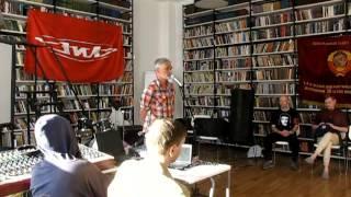 Концерт солидарности с ЗИЛ, выступление В. И. Шишкарёва