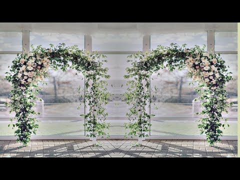 DIY Wedding Arch | DIY  Flower And Wooden arch | Beautiful Wedding Arch |