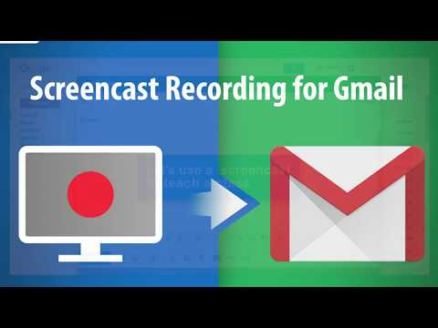 Free Screencast to Record Your Voice and Screen Right From Gmail