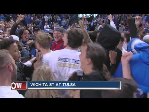 Tulsa Basketball upsets #9 Wichita State, 77-67