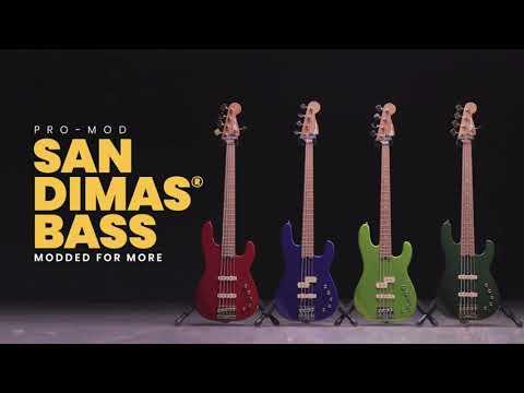 Charvel® Pro-Mod San Dimas® Bass Demo