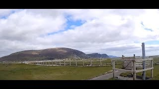 Dashcam footage of Cootehall, Co. Roscommon to Keel Camping in Achill Island, Co. Mayo, Ireland