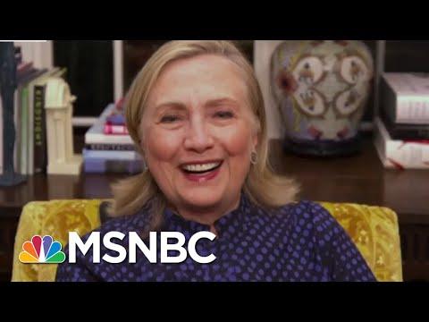Clinton Calls Trump DNI's Release Of Russian Disinformation 'A Sign Of Desperation' | MSNBC