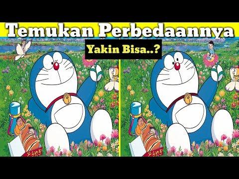 Tes kejelian Mata !!  Temukan Perbedaan Gambar Doraemon part 1