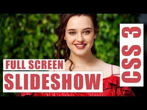 Fullscreen Slideshow For website Design using css 3 / css 3 slideshow thumbnail