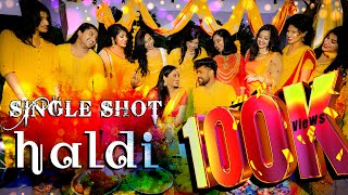 Indian Kerala Haldi Wedding Dance | SINGLE SHOT | Corona Edition 2020 | Arpo Studios Canada