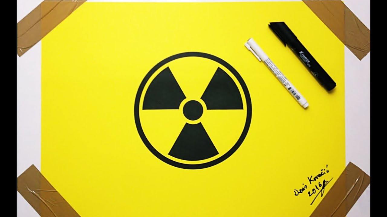 Nuclear logo drawing fan art danger symbol youtube nuclear logo drawing fan art danger symbol biocorpaavc Gallery