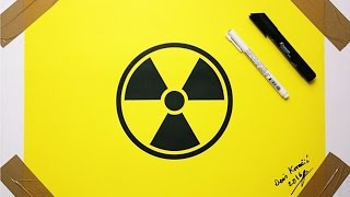 Nuclear Logo Drawing - Fan Art Danger Symbol