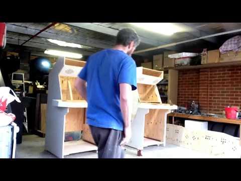 4 Player arcade machine build