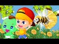 Jan cartoon | Flowers of Jan baby and bees #7 | CartoonS for KidS - JAC