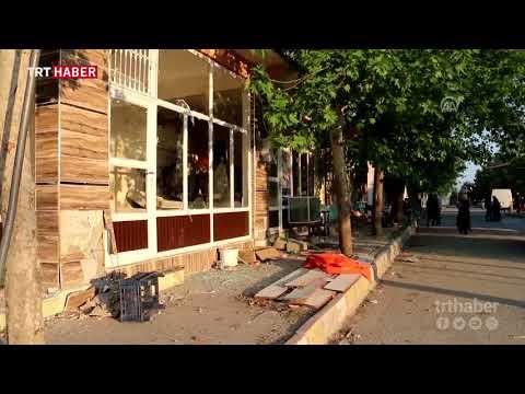 Samsat'ta meydana gelen 5,1 büyüklüğündeki deprem
