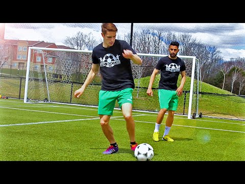TOP 4 - Easy & Effective Football Skills To Learn - Tutorial