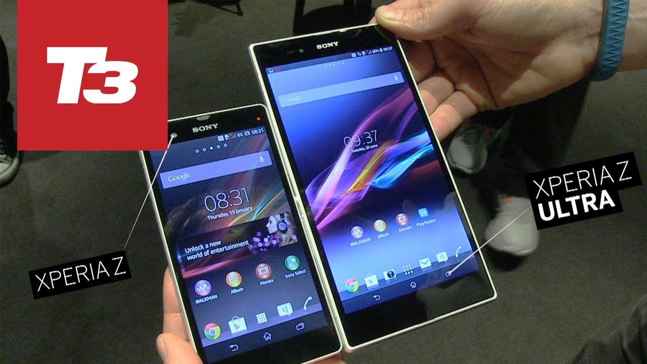 Sony Xperia Z Ultra 6 4 Smartphone Hands On Youtube