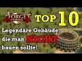 Forge of Empires - TOP 10 Legendäre Gebäude, die man NICHT bauen sollte!