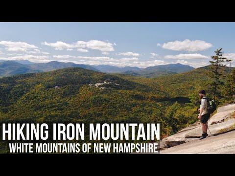 Hiking Iron Mountain | Hiking the White Mountains of New Hampshire | NH 52 WAV