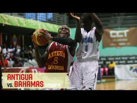 Bahamas vs. Antigua - Group A - 2014 CBC Championship