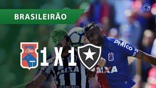 PARANÁ 1 X 1 BOTAFOGO - GOLS - 12/08 - BRASILEIRÃO 2018