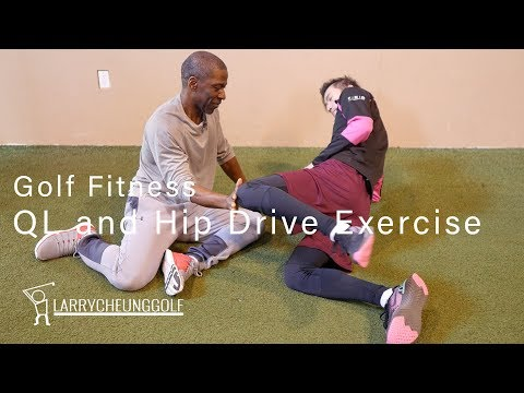 Golf Fitness – QL and Hip Drive Exercise