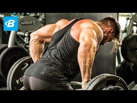 Big, Bad Bodybuilding Back Workout | Dylan Thomas