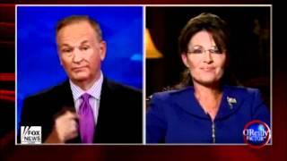 Sarah Palin epic fail on The O'Reilly Factor
