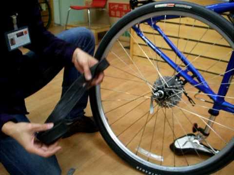 自転車 チューブ交換(パンク ...