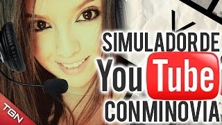 Repeat youtube video SIMULADOR DE YOUTUBE CON MI NOVIA