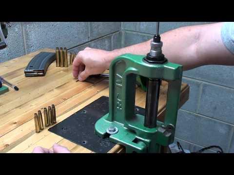 Part 1 Basic Reloading Of A Rifle Cartridge (223 Remington)