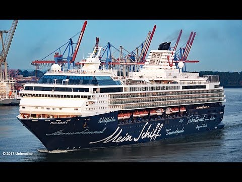 Mein Schiff 1 | very last call in Hamburg and leaving Germany forever | 4K-Quality-Video